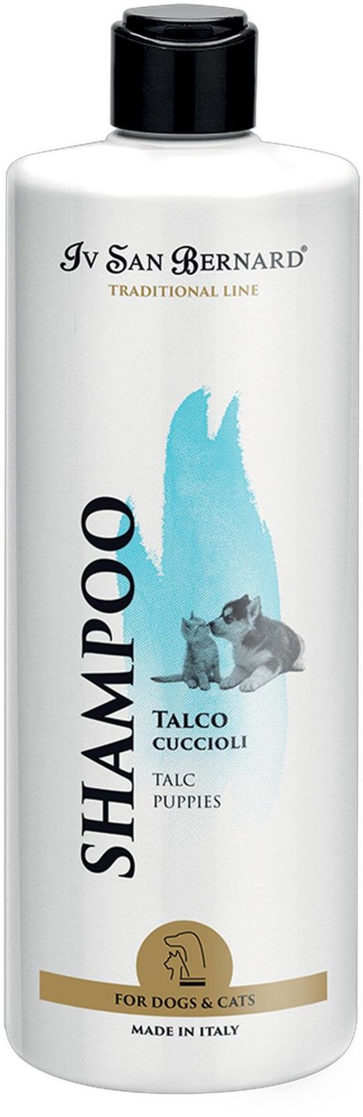 Шампунь для животных Iv San Bernard ISB Traditional Line Talc, для щенков и котят, 500 мл line шампунь