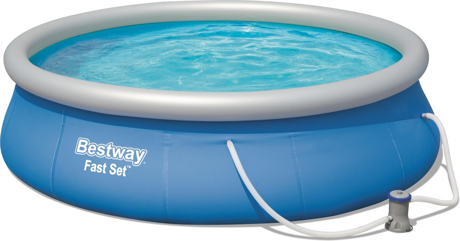 Бассейн надувной Bestway, 7340 л каркасный бассейн bestway 56464 549х132 см 26000 л