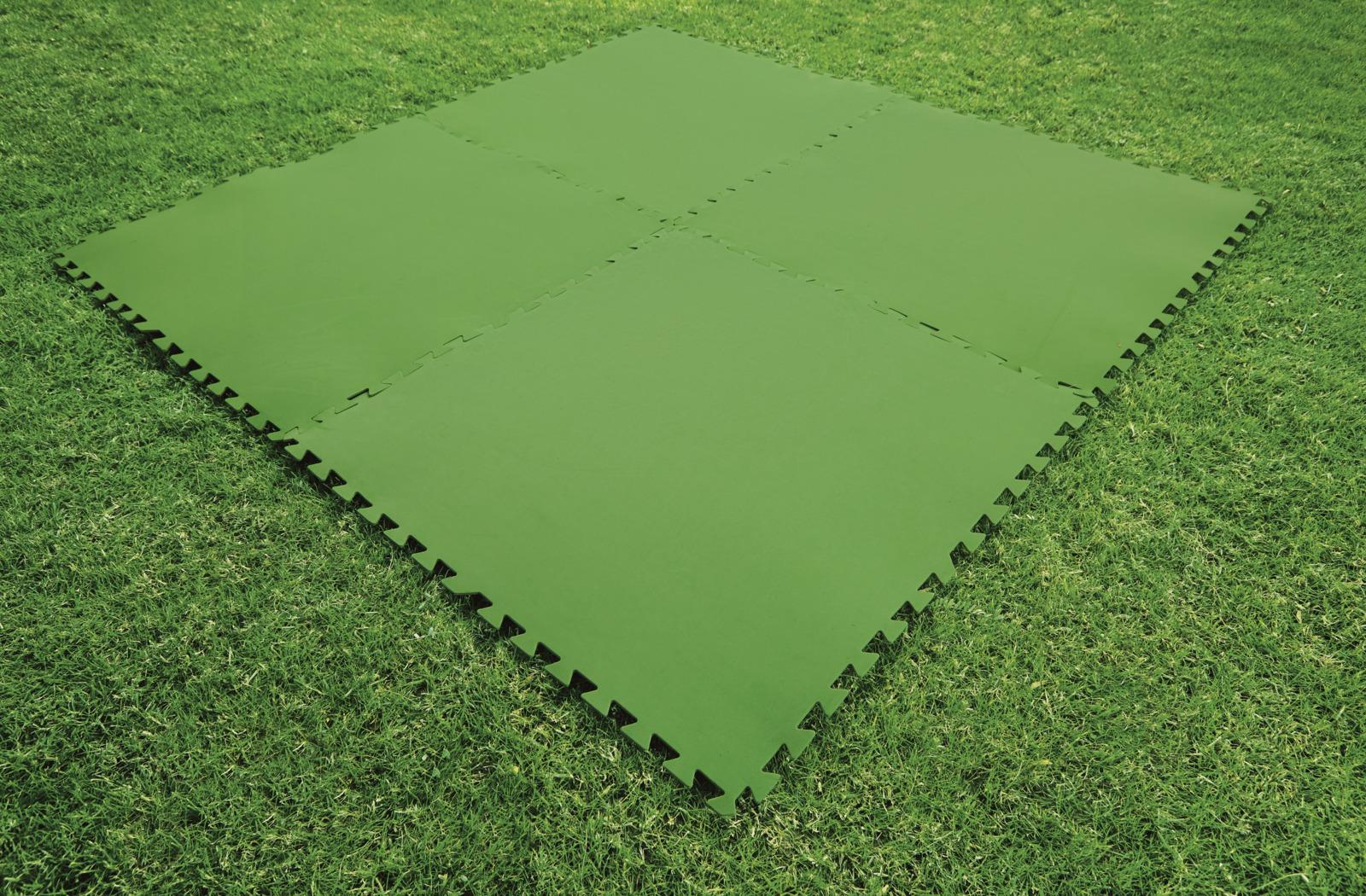Подложка для бассейна Bestway, 81 х 81 см, 8 шт тент bestway для прямоугольного бассейна 282х196х84 см 58442