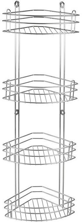 Полка для ванной комнаты Rosenberg, четырехярусная, RUS-385022-4, серый rosenberg rus 285003