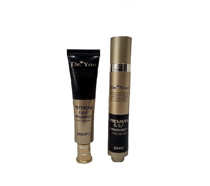 Набор косметики для ухода за кожей Dr. Yoo AD181-C501A Набор для ухода за кожей вокруг глаз. Premium Vital Energy Eye Cream DAY & N