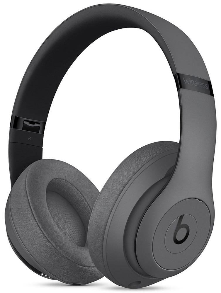 лучшая цена Беспроводные наушники Beats Studio3 Wireless, серый