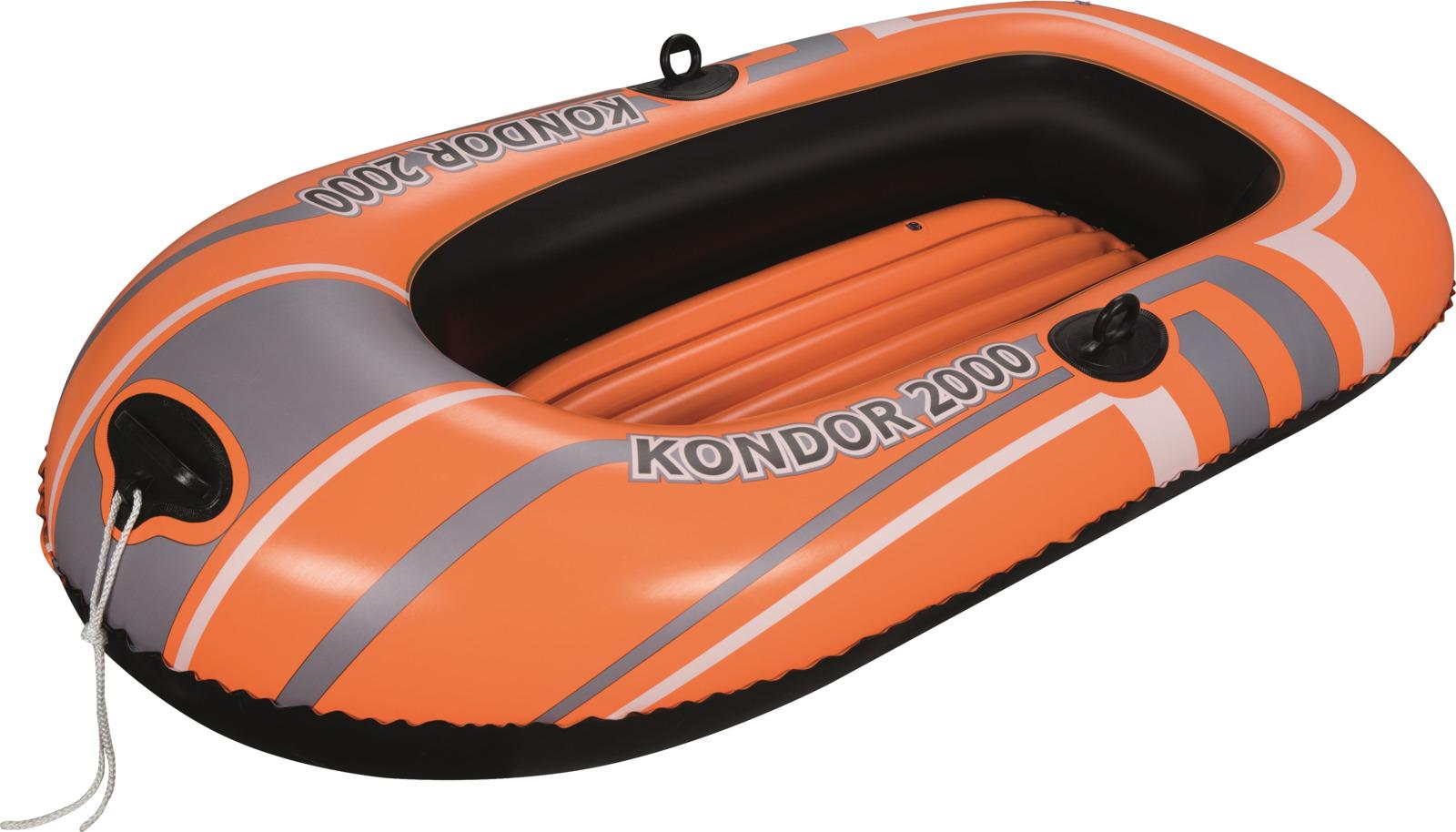 Лодка надувная Bestway Kondor 2000, 184 х 91 х 37 см надувная мебель