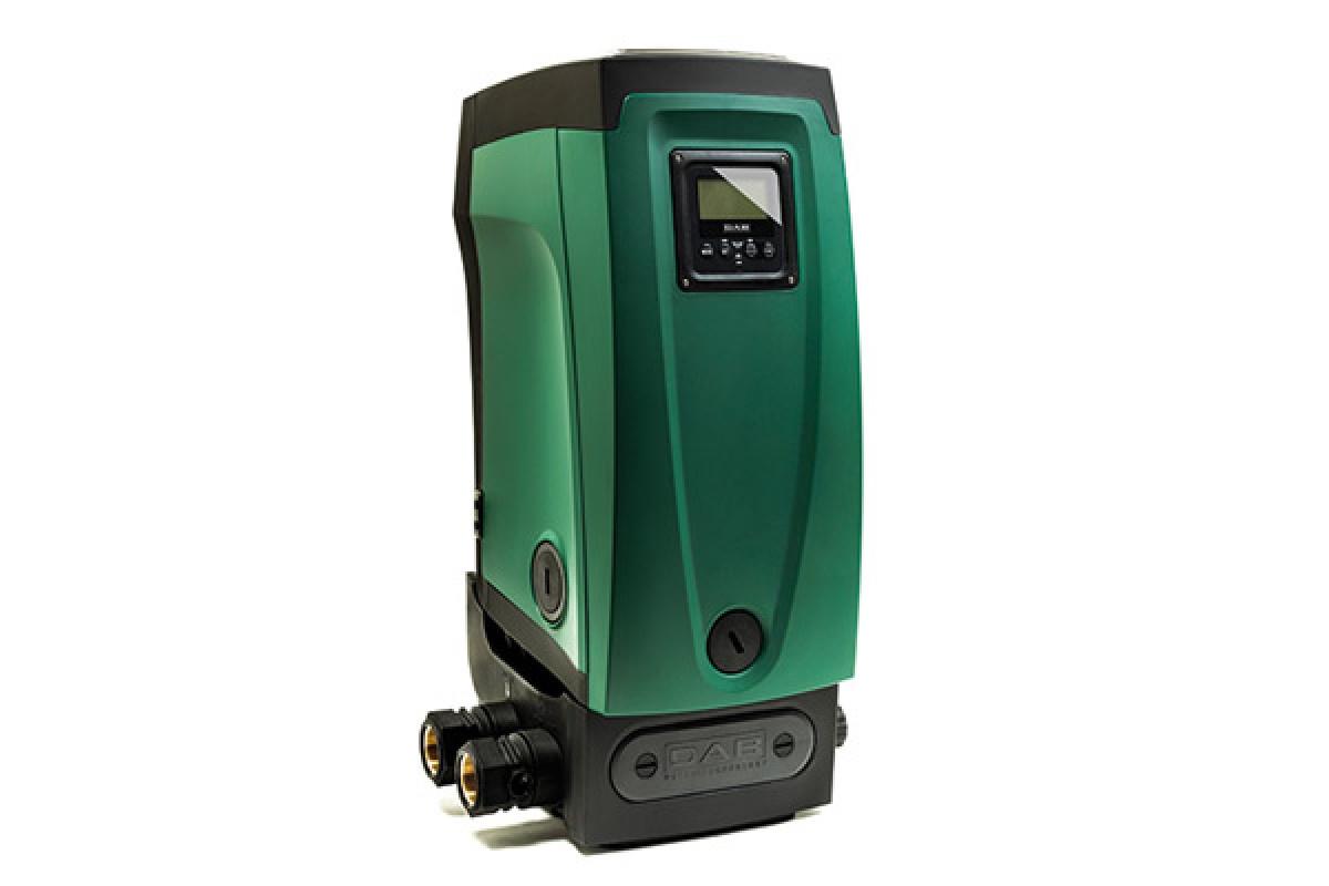 Насосная станция DAB Автоматическая станция повышения давления с частотным  управлением E.SYBOX, темно-зеленый
