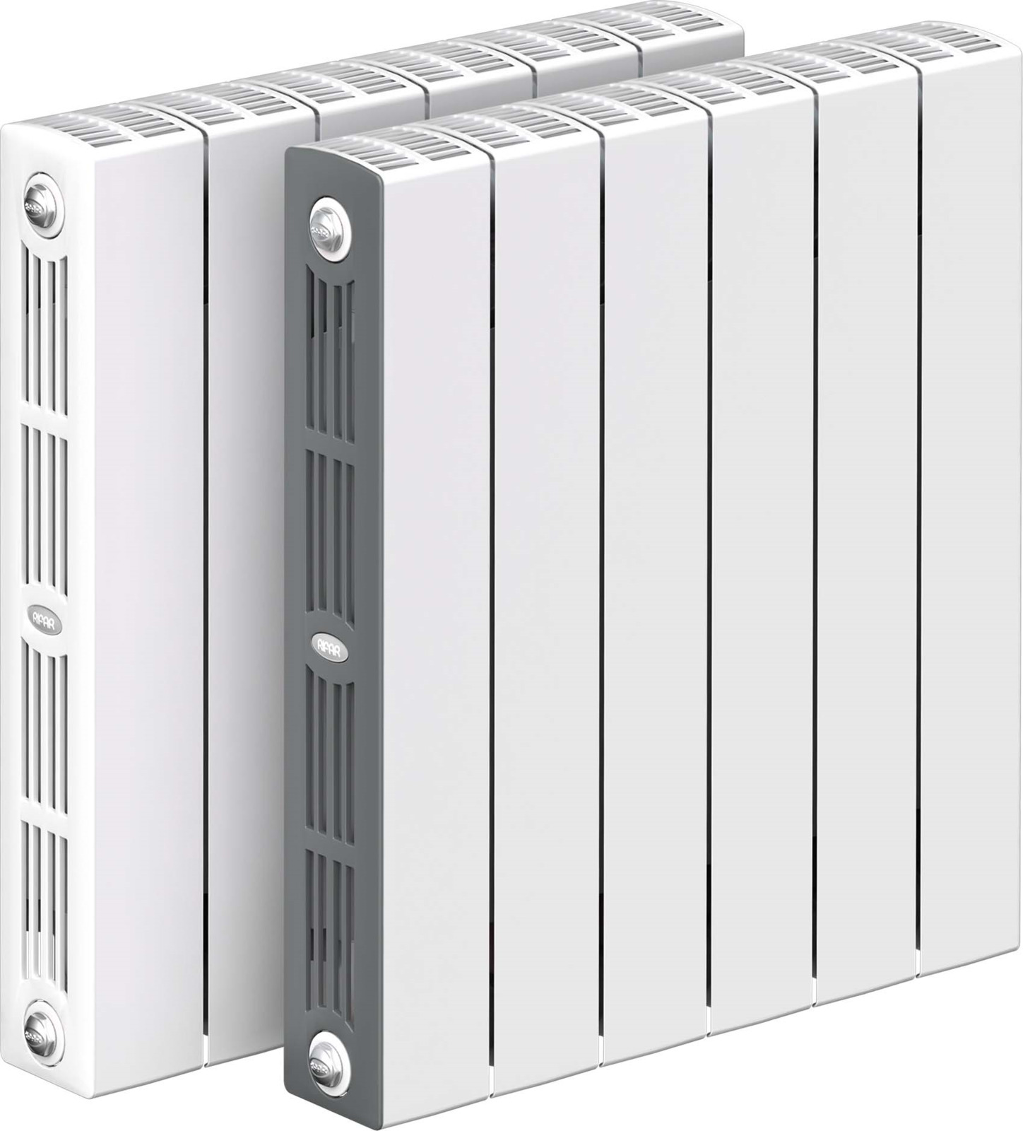 все цены на Секционный радиатор Rifar Supremo 500, биметаллический, RIFAR S 500-7, белый, 7 секций онлайн