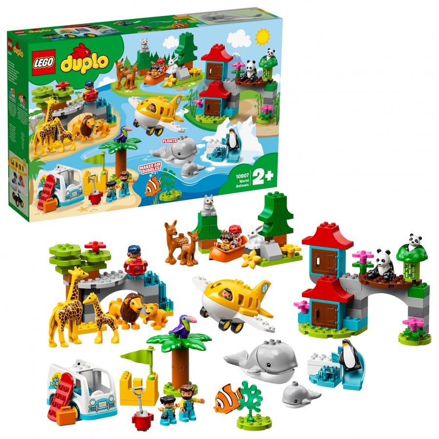 Пластиковый конструктор LEGO 10907