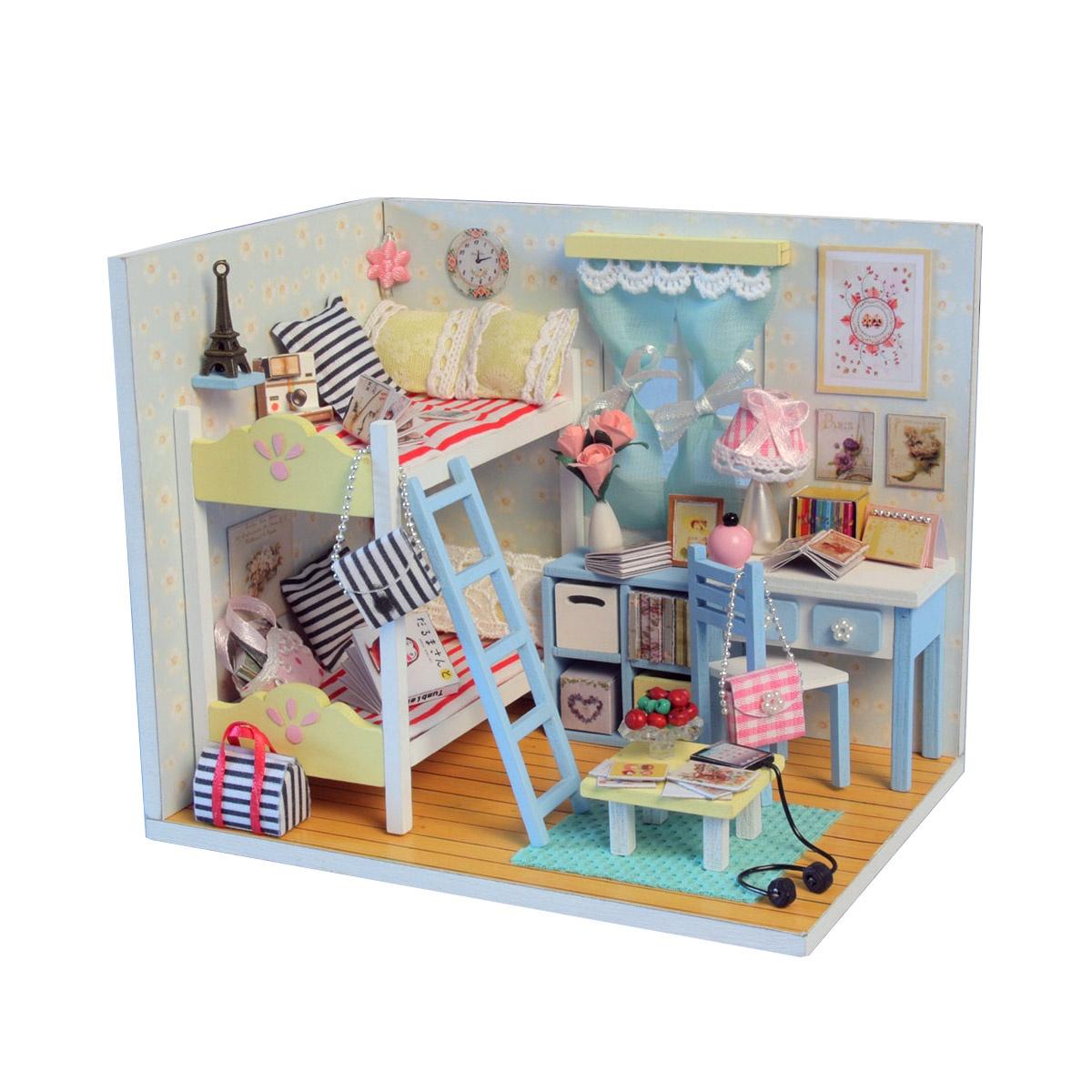 Румбокс. DIY MiniHouse. Интерьерный конструктор. Комната девчонок