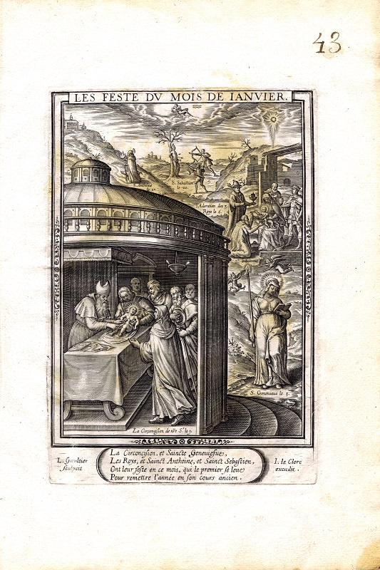 Фото - Гравюра Леонар Готье Январь. Резцовая гравюра. Франция, Париж, 1603 год jean paul gaultier le male