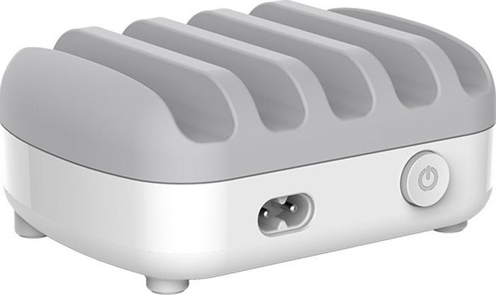 Сетевое зарядное устройство Orico DUK-5P, белый, серый
