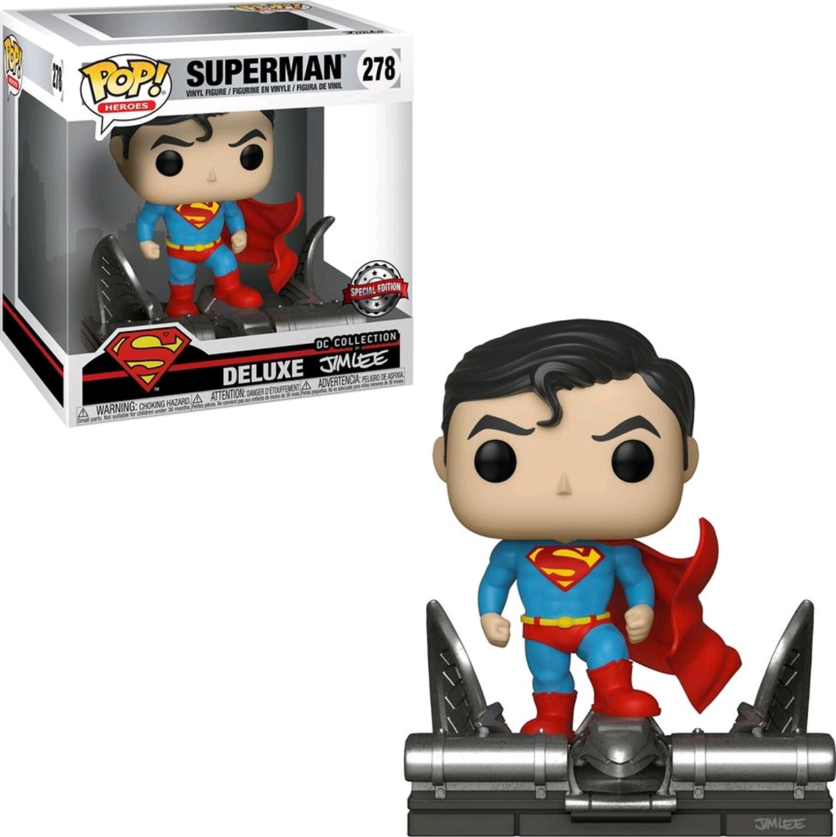 Фигурка Funko POP! Deluxe: DC: Superman on Gargoyle (Jim Lee) (Exc) 34072 недорого