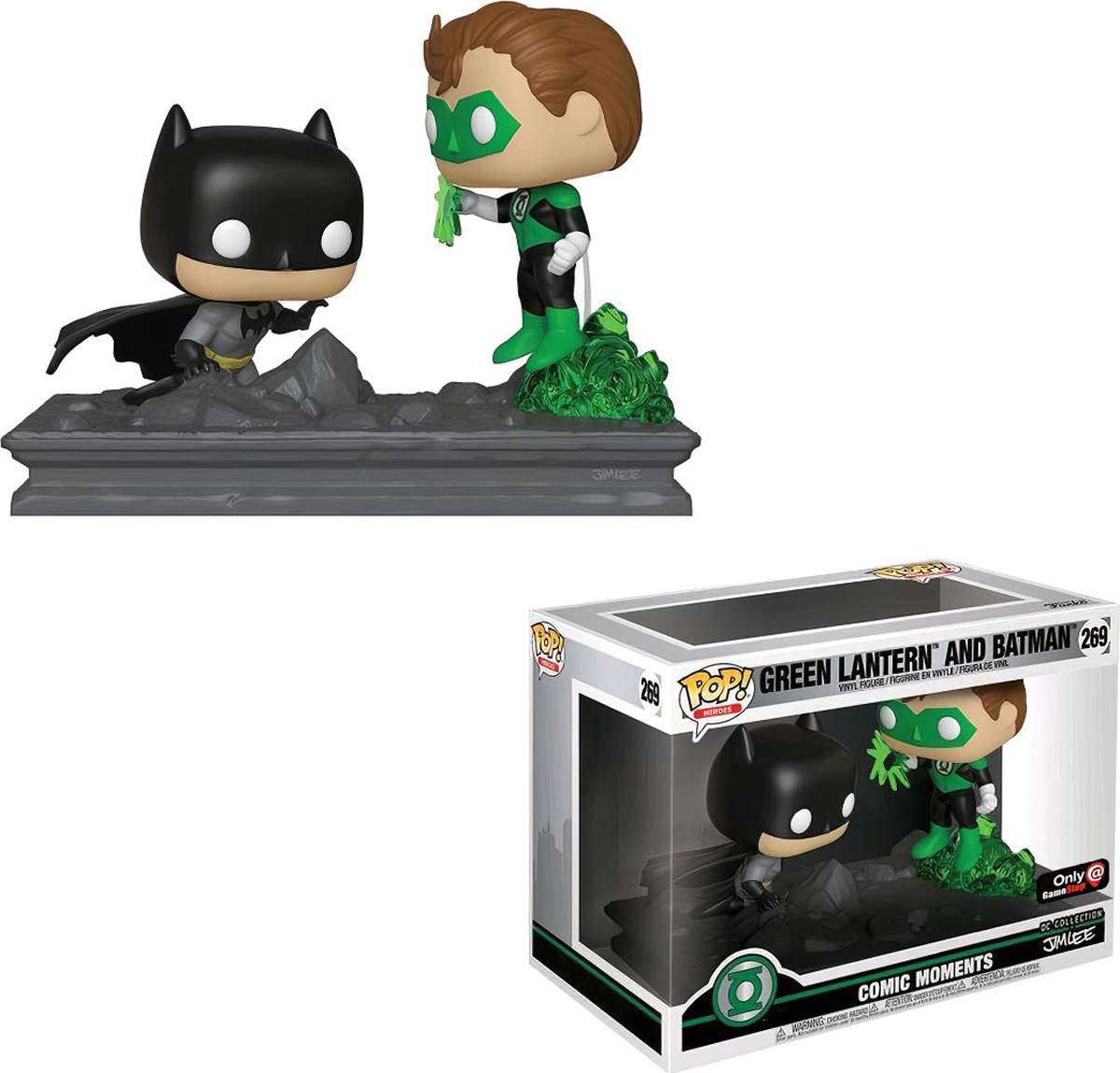 все цены на Фигурка Funko POP! Vinyl: Comic Moment: DC: Green Lantern (Jim Lee) (Exc) 36292 онлайн
