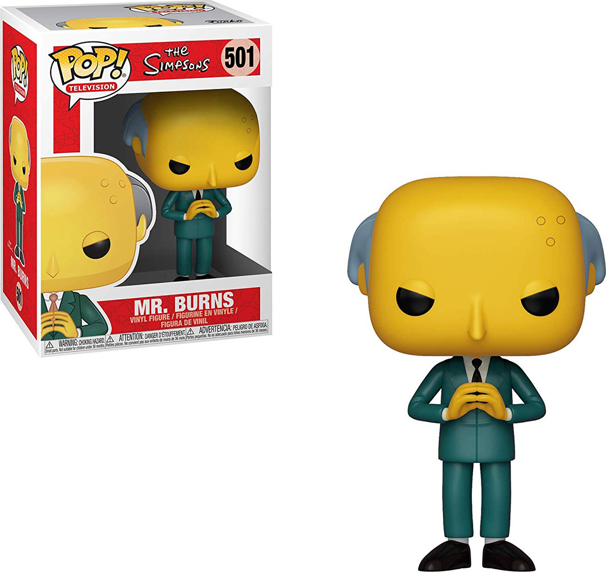все цены на Фигурка Funko POP! Vinyl: Simpsons S2: Mr Burns 33883 онлайн
