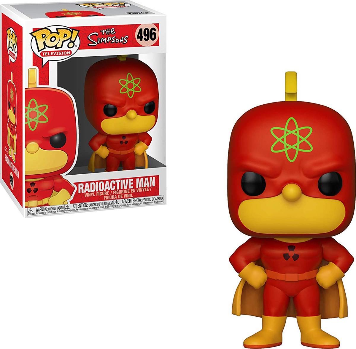 Фигурка Funko POP! Vinyl: Simpsons S2: Homer-Radioactive Man 37690 фигурка funko pop vinyl hellboy liz sherman 22718