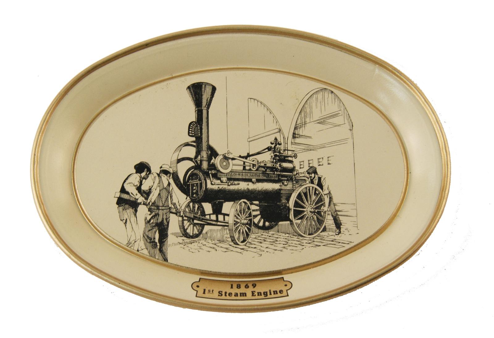 Настенный декор Антик Хобби Первый паровой двигатель.1869 год, золотой, светло-бежевый, черный декор настенный gardman павлин 22 х 50 см 17334