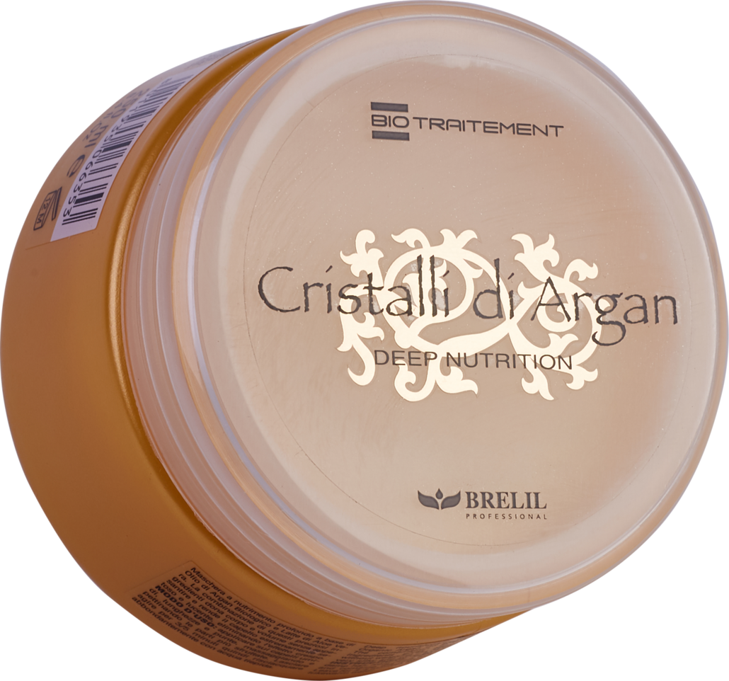 Маска для волос Brelil BioTreatment Argan, для глубокого восстановления, шелковистости и блеска, с маслом аргании и молочком алоэ, 250 мл artego маска глубокого восстановления deep repair mask 250 мл