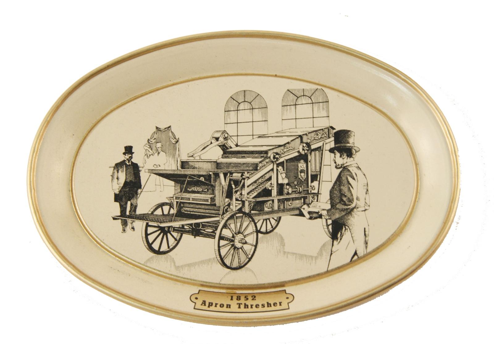 Настенный декор Антик Хобби Молотилка.1852 год, светло-бежевый, золотой, черный декор настенный gardman павлин 22 х 50 см 17334