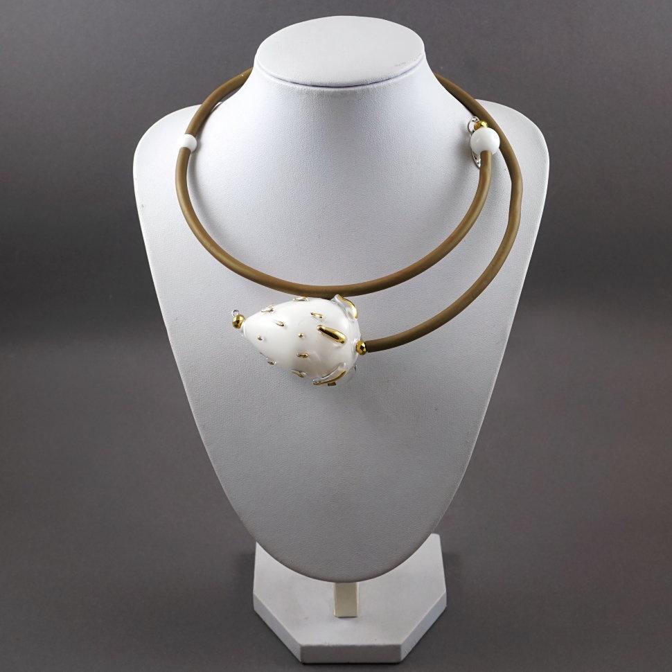 Колье/ожерелье бижутерное PJ Murano