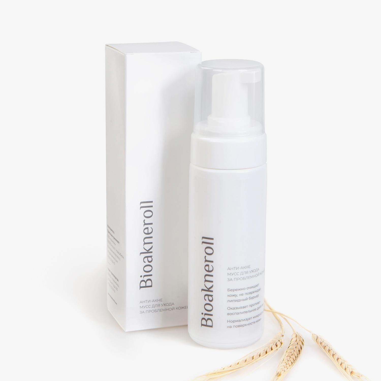 Анти-акне мусс для ухода за проблемной кожей лица Bioakneroll Всё это обеспечивает укрепление и усиление защитных функций кожи,...