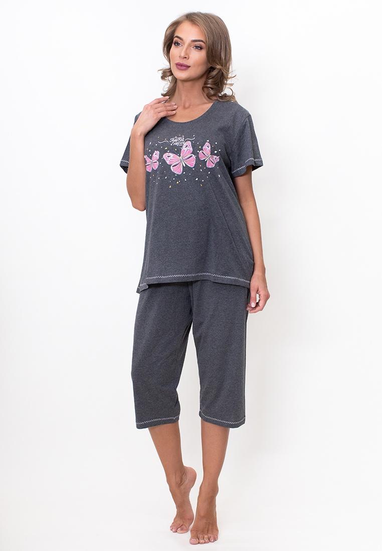 Домашний комплект Vienetta домашний комплект женский vienetta s secret rosso кофта брюки цвет белый 802123 0128 размер m 46