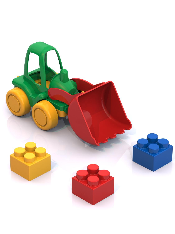 Пластиковый конструктор Нордпласт 511_зеленый,желтый,красный