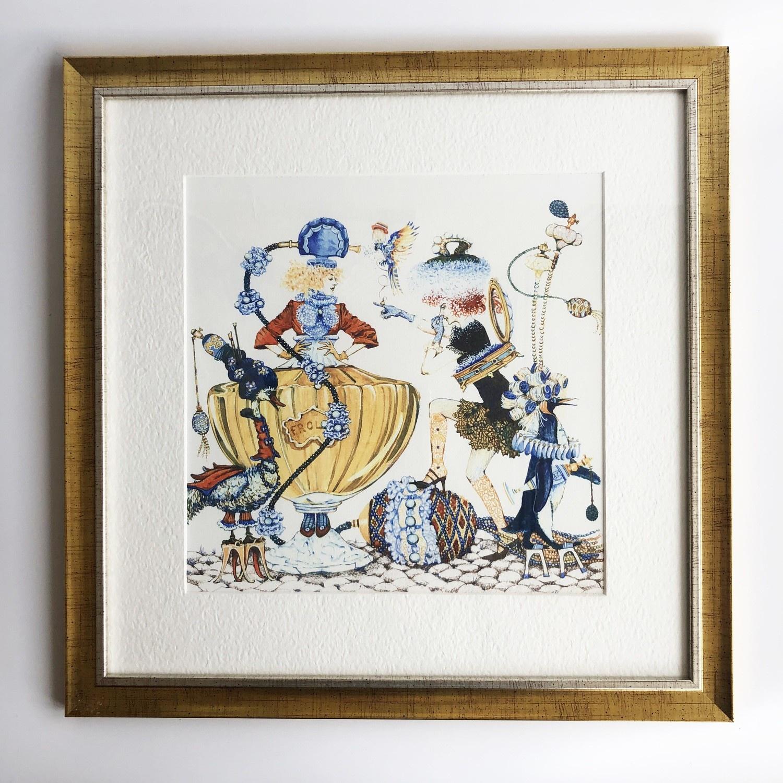 цена на Картина Impression Style 0116, золотой