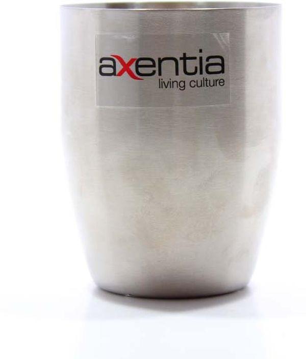 Стакан для зубных щеток Axentia Stockholm, 282072, серый приманова стакан для зубных щёток charlett полимер мультиколор 10 1 х 10 5 х 13 5 см