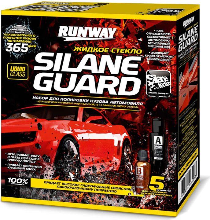 Жидкое стекло Runway Silane Guard, RW6000, черный для автомобиля жидкое стекло