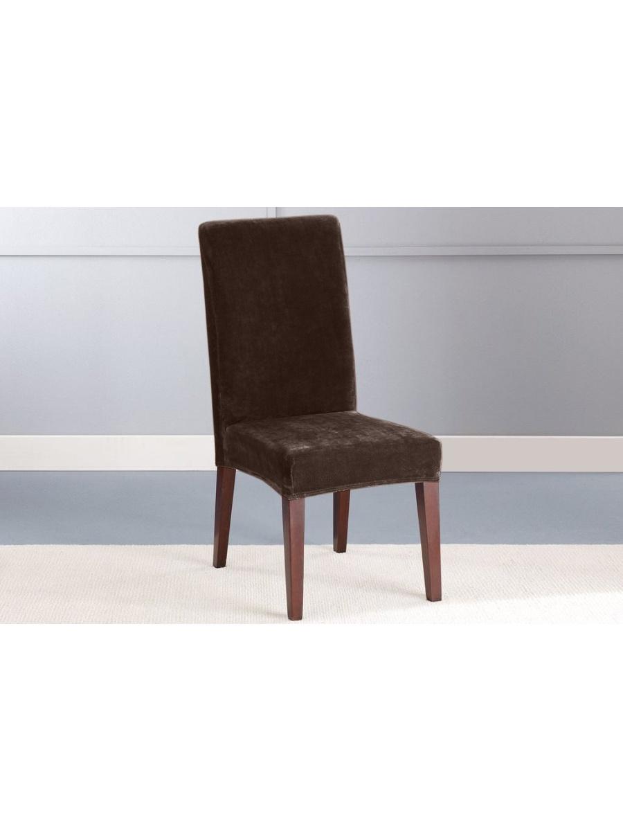 Чехол на мебель Медежда 1908221115001, коричневый чехол для стула мебель трия хлоя м