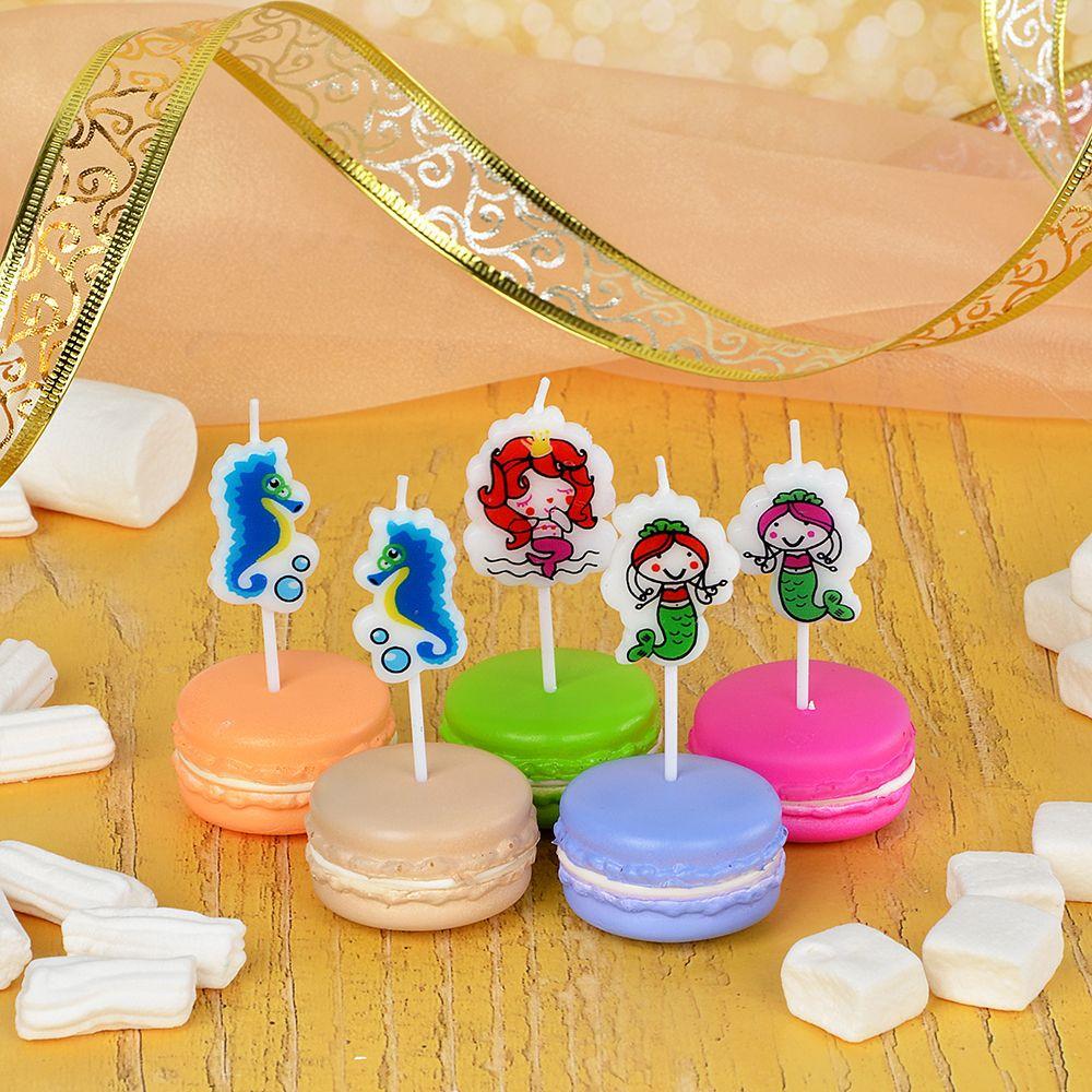 Набор свечей для торта Капитан Весельчак
