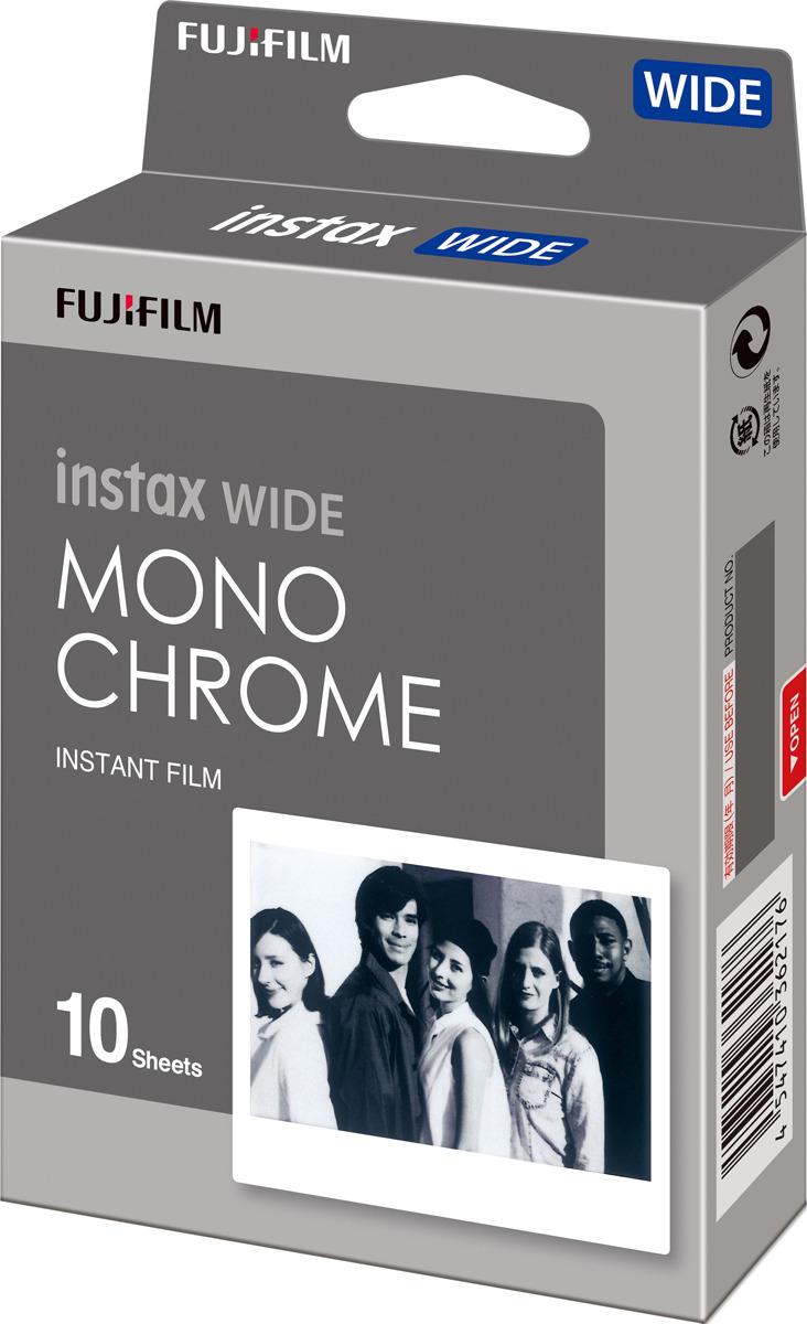 Фотопленка Fujifilm Colorfilm Instax Wide Monochrome WW 1, 10 шт