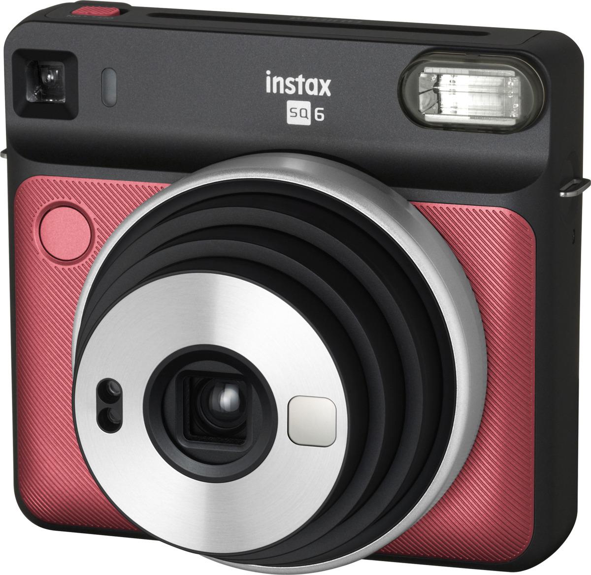 Фотокамера мгновенной печати Fujifilm Instax SQ 6, красный