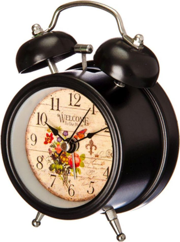 Часы-будильник La Decor, 529042, 11 х 8,5 х 6 см все цены