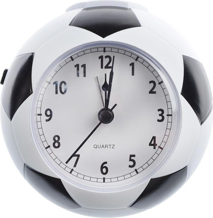 Часы-будильник Мяч, 529154, 11 х 10,4 х 4 см все цены