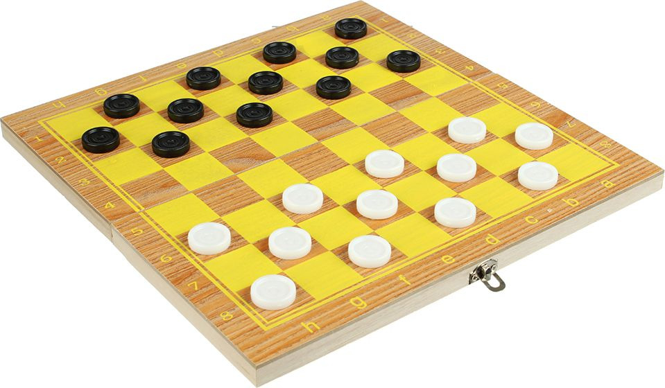 Настольная игра Шашки, 539015, 29 х 29 см настольные игры шашки онлайн