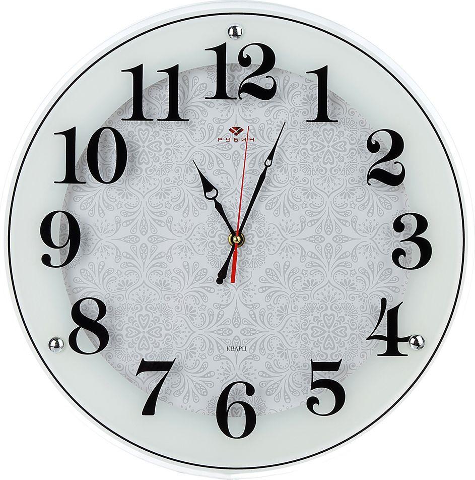 Настенные часы Классика с узором