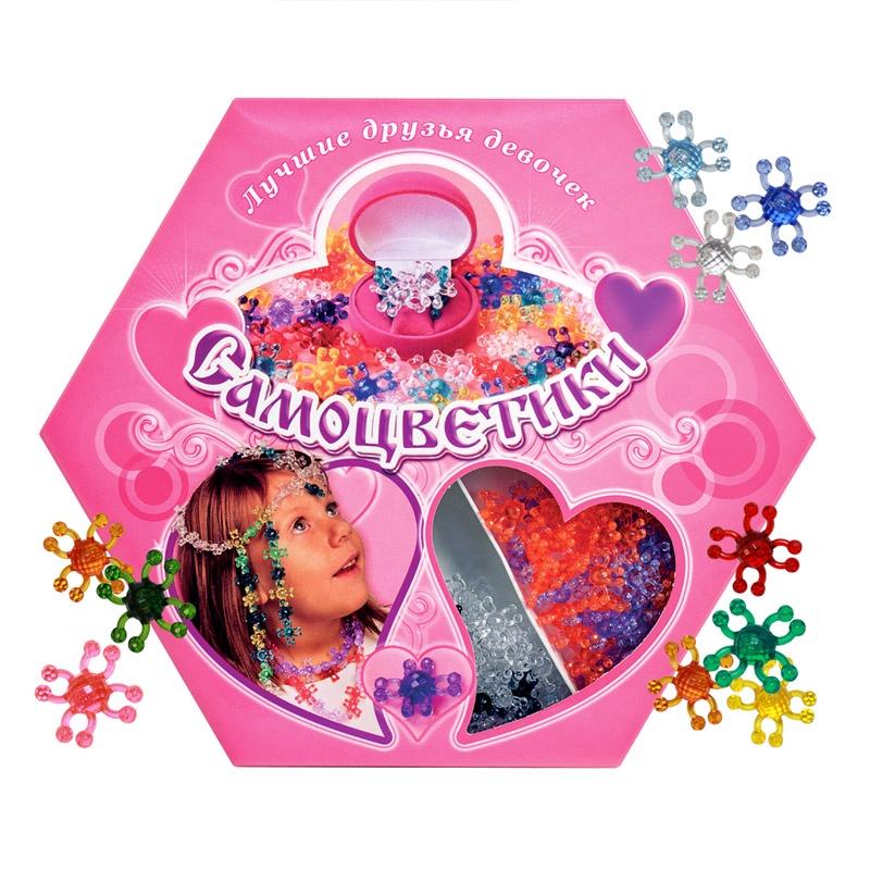 Развивающий набор для детского творчества САМОЦВЕТИКИ подарочное издание Биплант 11011