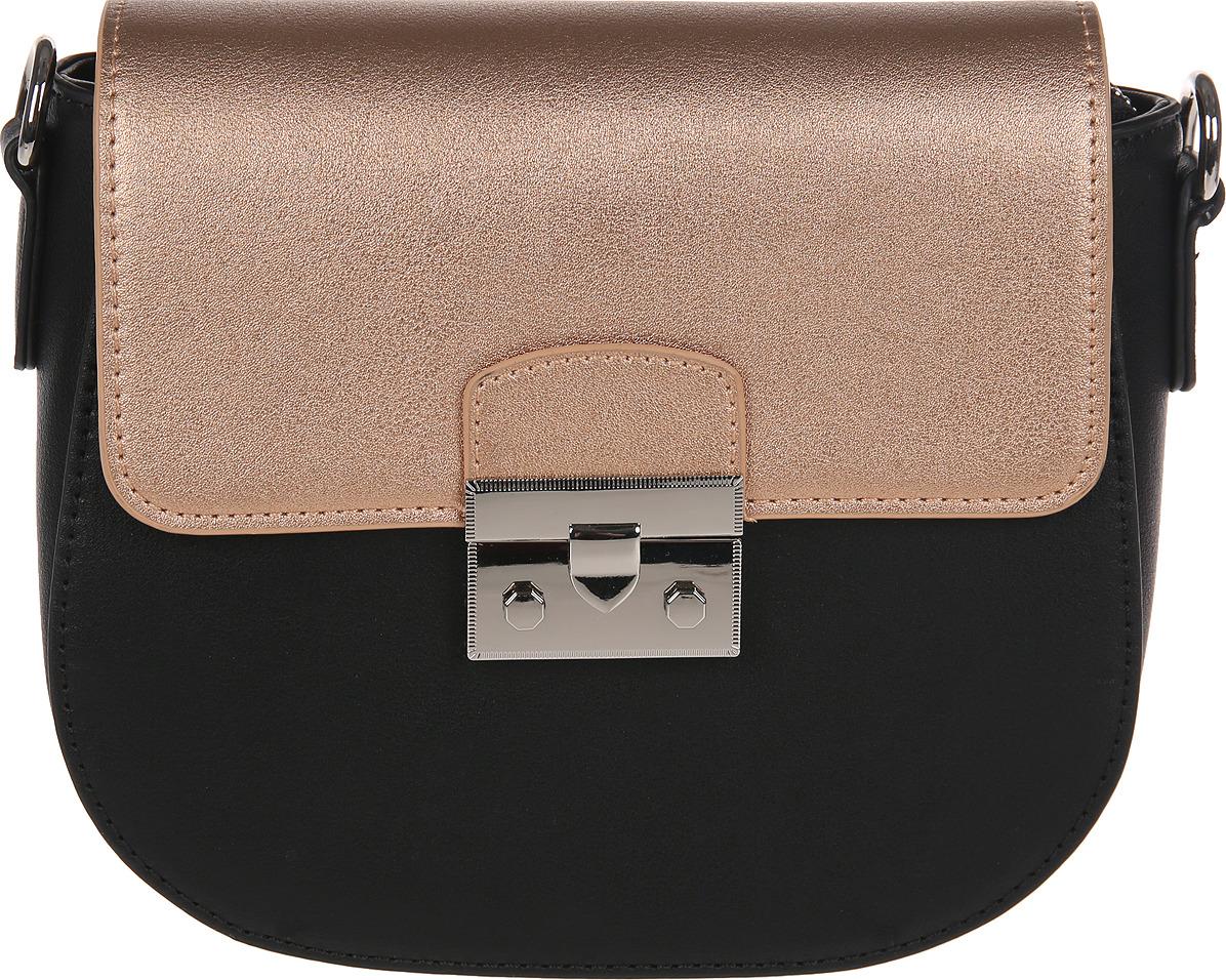 цена Сумка кросс-боди женская Vitacci, цвет: черный. YZ0366 онлайн в 2017 году