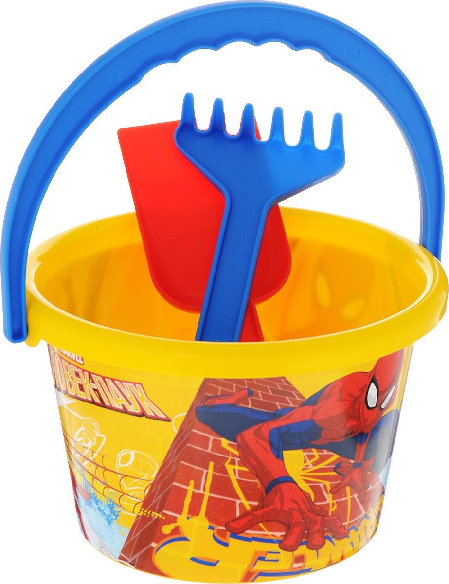 Фото - Игровой набор Полесье Marvel Человек-Паук №5, 65902, 3 предмета полесье полесье игровой набор набор инструментов 3 в ведре 132 эл