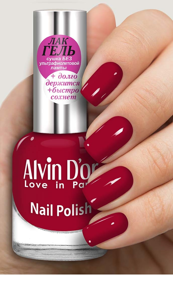 Лак для ногтей Alvin D'or ADN-16 тон 1606 лак для ногтей alvin d or alvin d or al057lwegxi4