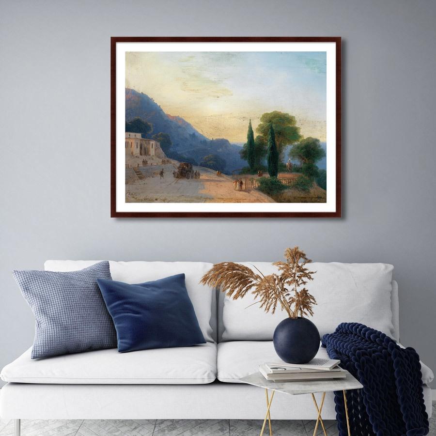 Картинки интерьера с картинами