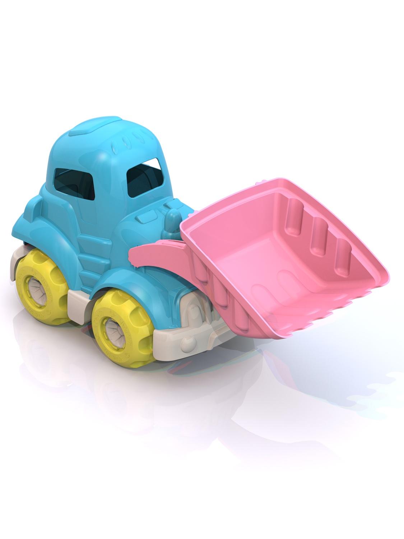 Машинка Нордпласт ШКД14_голубой,розовый