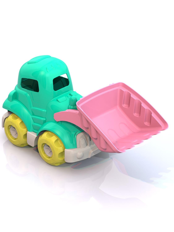 Машинка Нордпласт ШКД14_салатовый,розовый
