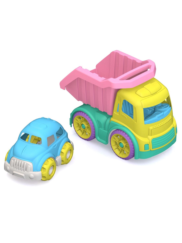 Машинка Нордпласт ШКД28_ желтый,розовый