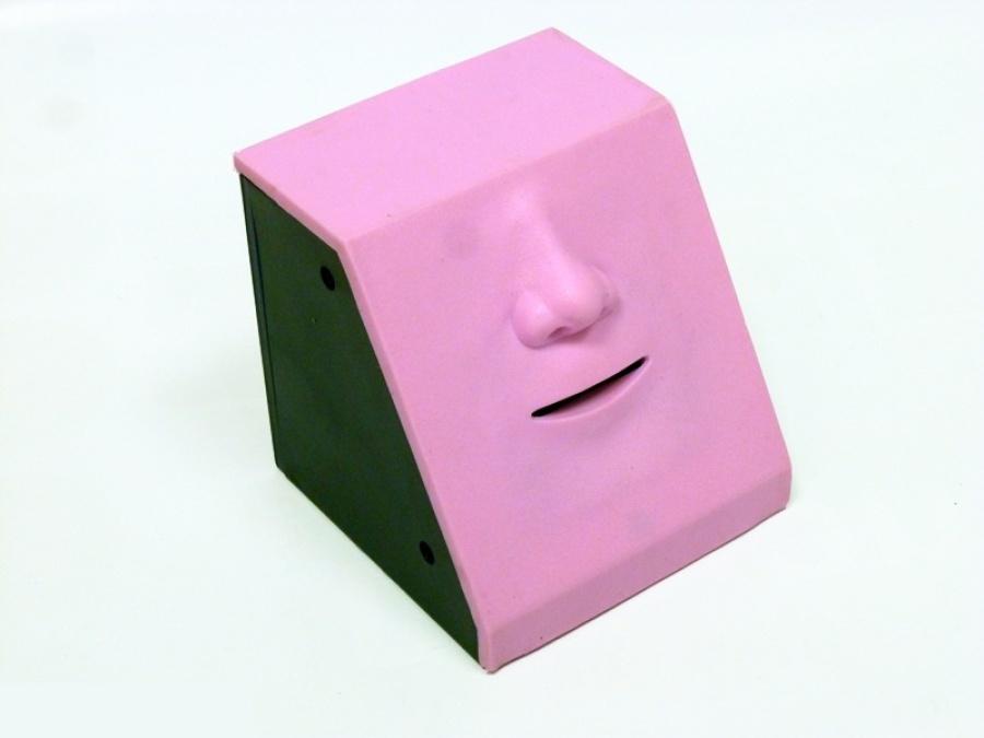 """Интерактивная игрушка Интерактивная копилка """"Обжора"""" (нос розовый) розовый"""