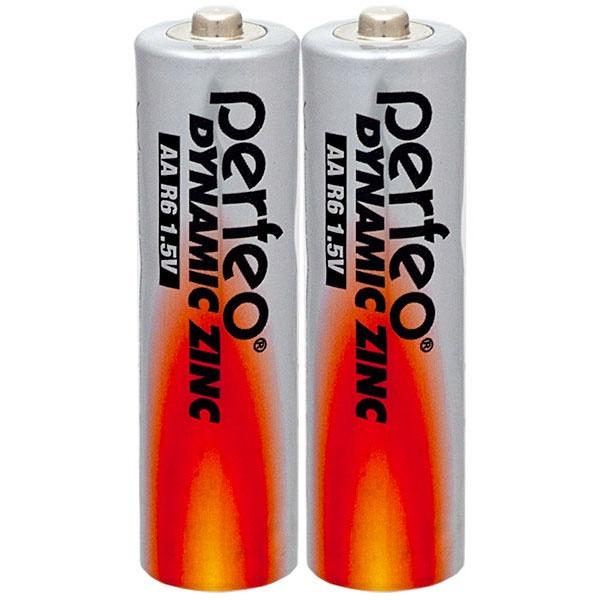 Батарейка Perfeo PF R6/2SH батарейка perfeo r6 4sh dynamic zinc 4 штуки