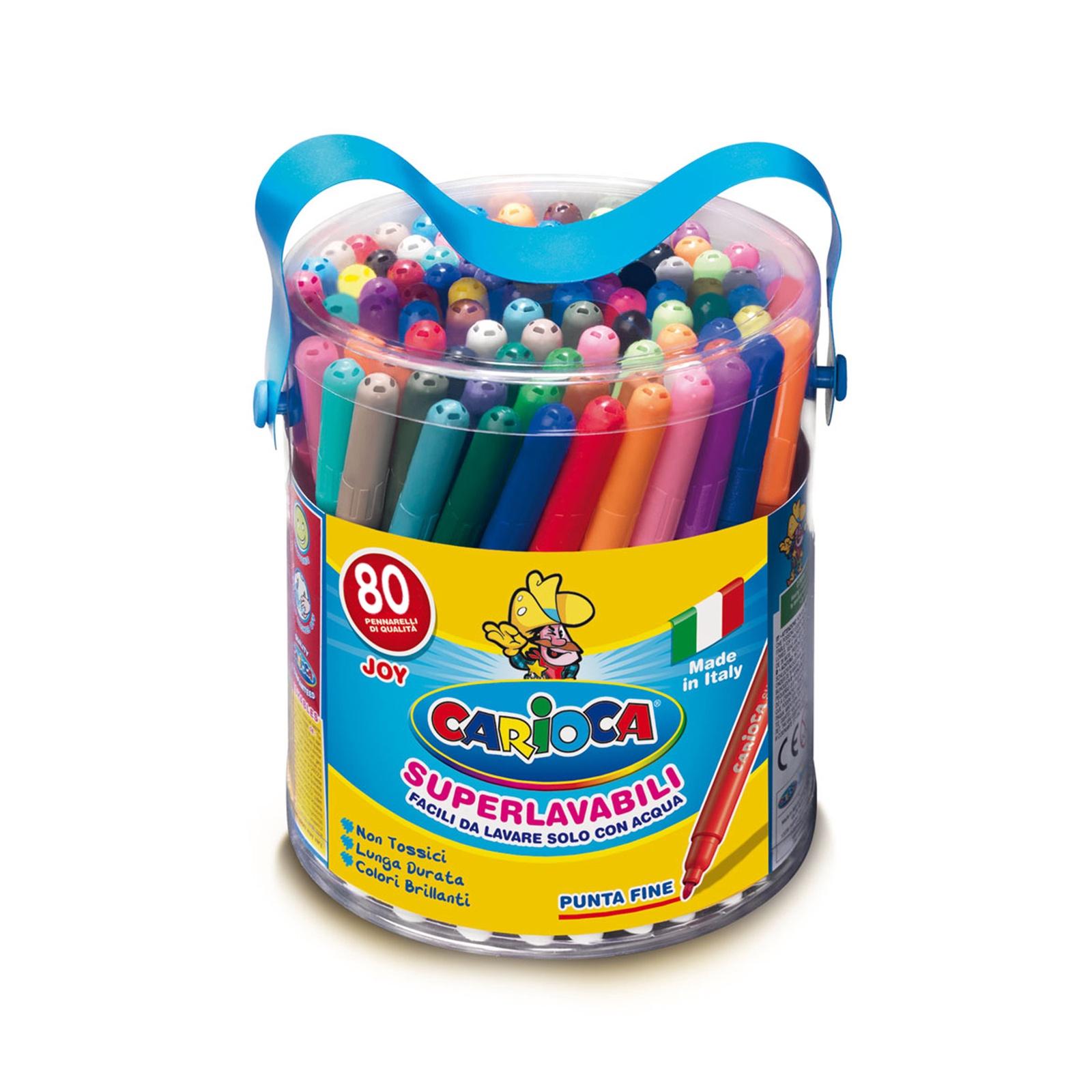 Набор фломастеров Carioca 40044SP carioca набор смываемых восковых карандашей baby 8 цветов
