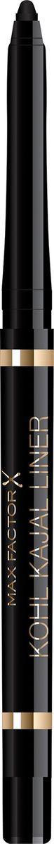 Карандаш для глаз Max Factor Kohl Kajal, тон 001 black карандаш для макияжа глаз kohl pencil max factor глаза