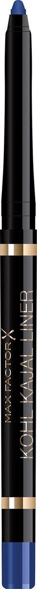 Карандаш для глаз Max Factor Kohl Kajal, тон 002 azure контурный карандаш для глаз soft kohl kajal 1 2 гр 3 тона