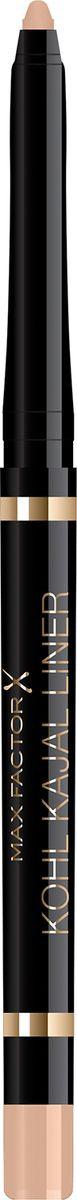 Карандаш для глаз Max Factor Kohl Kajal, тон 003 beige контурный карандаш для глаз soft kohl kajal 1 2 гр 3 тона