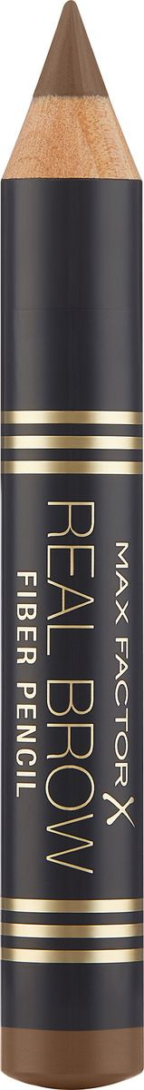 Карандаш для бровей Max Factor Real Brow Fiber Pencil, тон 001 light brown max factor карандаш для бровей eyebrow pencil тон 02 hazel цвет светло коричневый